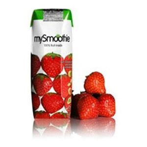 mySmoothie Jordgubb - 250 ml