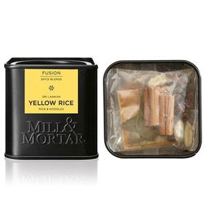 Mill & Mortar Yellow Rice 5x3 gr kryddblandning Ekologisk