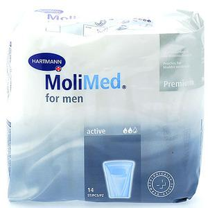 Paul Hartman A/S MoliMed for Men Active - 14 st