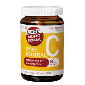 Livol Mono Normal C 80 mg - 280 st