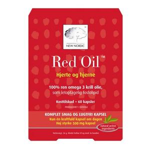 New Nordic Red Oil Omega-3 Krillolja - 60 kapslar