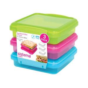 Sistema Sandwich 3 Pack 450 ml