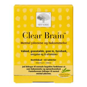 New Nordic Clear Brain - 60 tabletter