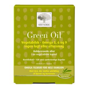 New Nordic Green Oil - 120 tabletter
