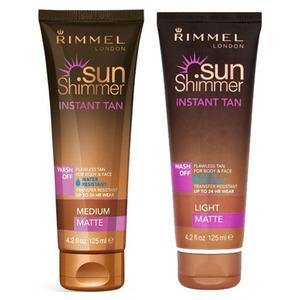 Rimmel Sunshimmer Instant Tan - 125 ml