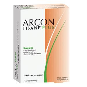 Arcon Tisane Plus - 60 kapslar