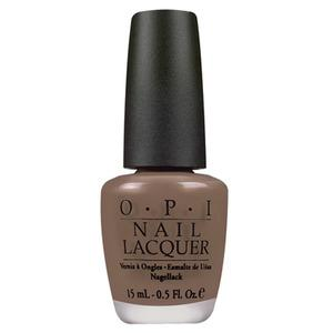 OPI Over the Taupe är ett elegant brunt nagellack från OPI's Bright Pair Collection.