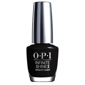 Få en långvarig manikyr med OPI We're in the Black från OPI's Infinite Shine-serie!
