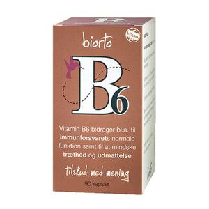 BiOrto Vitamin B6 11 mg - 90 st