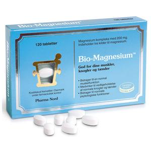 Bio-Magnesium 200 mg - 120 tabletter