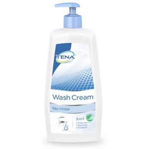 TENA Wash Cream 3-in-1 med Pump - 1000ml