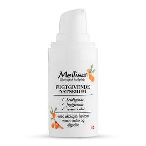 Mellisa Serum Night återfuktande - 15 ml