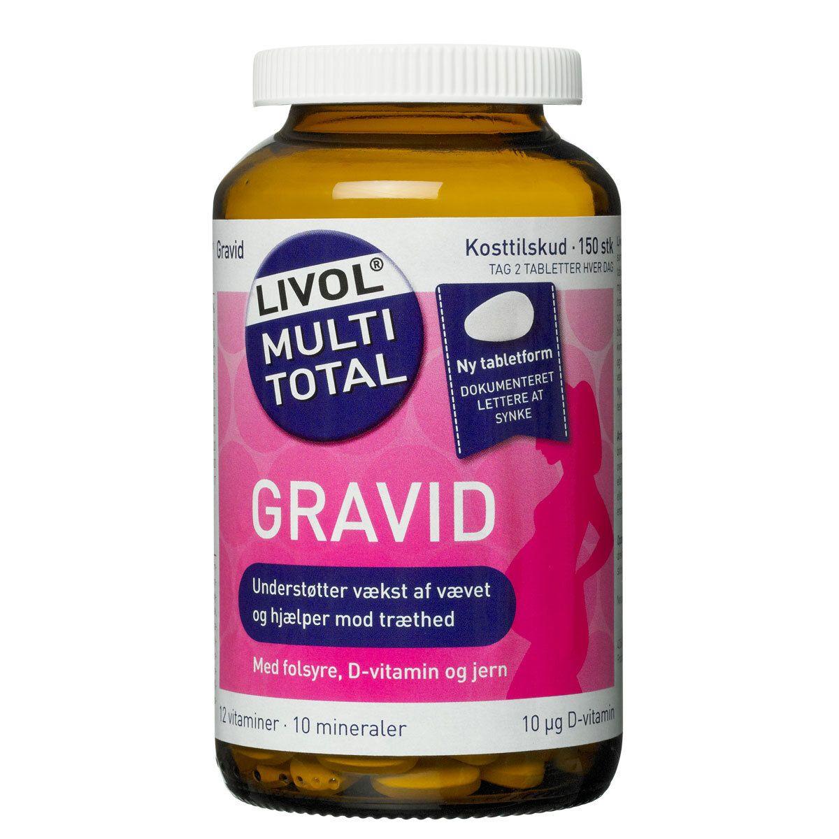 äta d vitamin gravid
