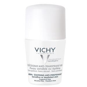 Vichy Antiperspirant 48Hr Deo Roll on oparfymerad 50 ml