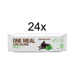 Nupo Meal Replacement Bar Chocolate -Mint, här i storpack.