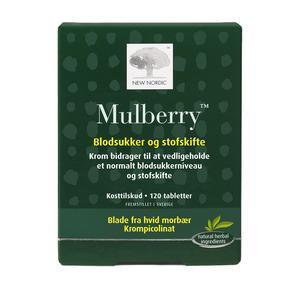 New Nordic Mulberry - 120 tabletter