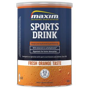 MAXIM Hypotonic Sports Drink Orange - 480g