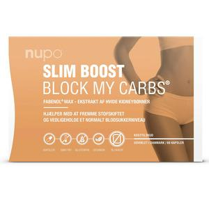 Nupo Slim Boost BLOCK MY CARBS - kolhydratblockerare - 60 st