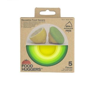 FOOD HUGGERS®  set 5 runda Fresh Greens