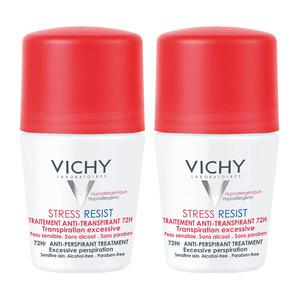 Vichy Deo Roll-on Stress Resist 2-pack