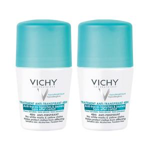 Vichy Deo Roll-on Anti-trace 2-pack