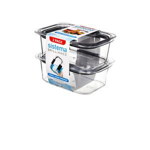 Sistema Brilliance 2-pack 920 ml i Tritanplast Med24.se
