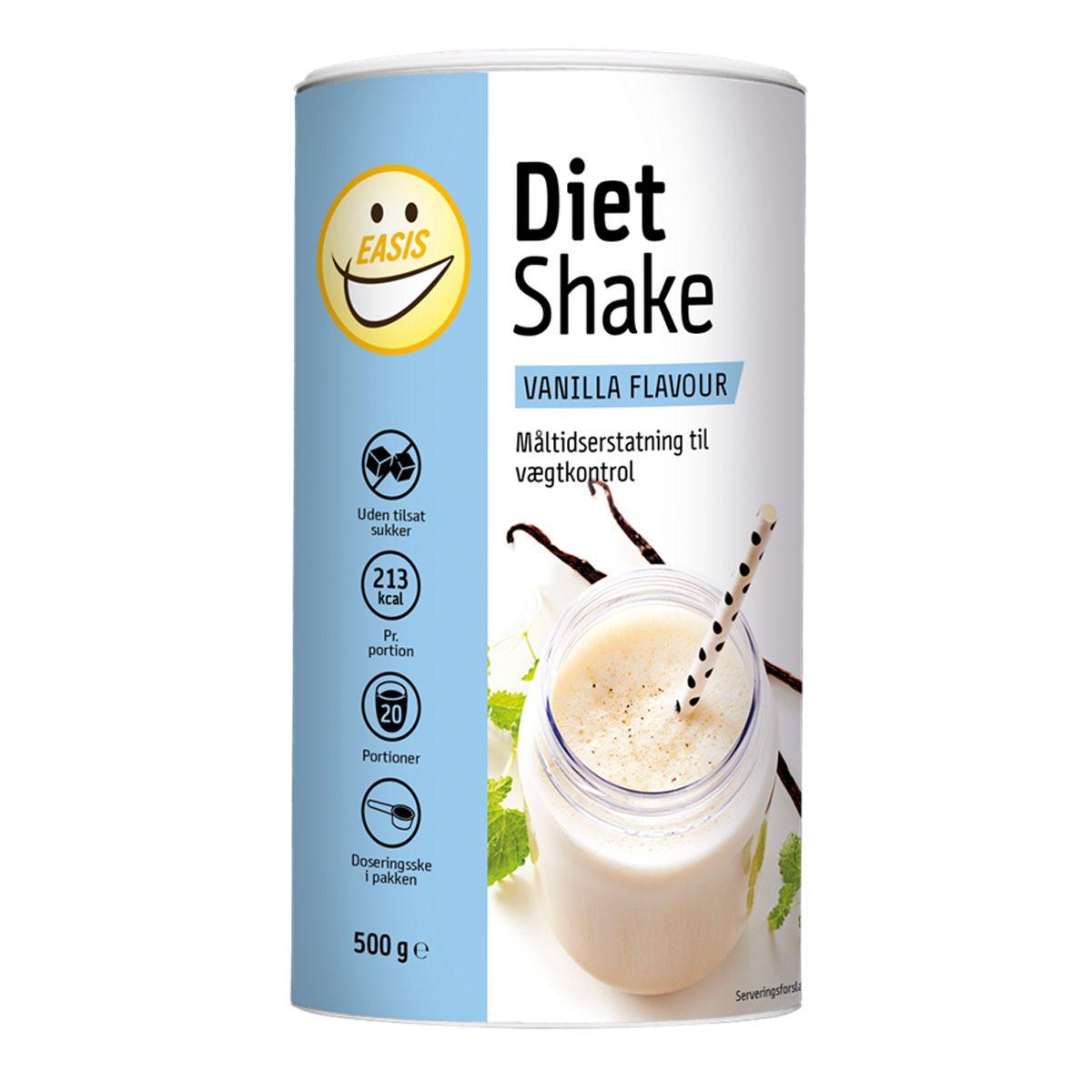 måltidsersättning utan mjölk