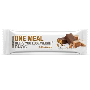 Nupo one meal - Toffee Crunch - 60 g bar meal replacement