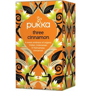 Pukka Three Cinnamon Tea Ekologisk - 20 påsar