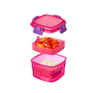 Sistema Snack To Go Lunch Pink - 1 st