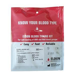 vilken blodgrupp har jag test