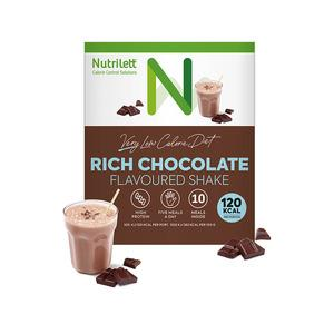 VLCD - very low calorie diet med Nutriletts chokladshake.