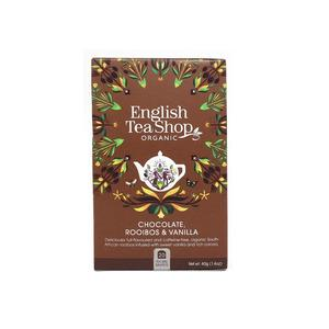 English Tea Shop Chocolate Rooibos & Vanilla eko - 20 pyramider