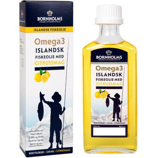 omega 3 olja flytande